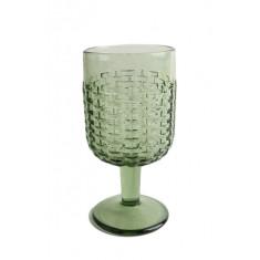 Ποτήρι Κρασιού Rattan Green 250ml Marva Home