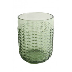 Ποτήρι Νερού-Αναψυκτικού Rattan Green 350ml Marva Home