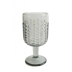 Ποτήρι κρασιού Rattan Grey 250ml Marva Home