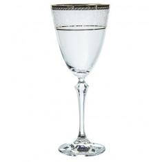 Ποτήρι νερού Κρυστάλλινο Bohemia 250ml Σετ 6Τμχ Elisabeth Platin
