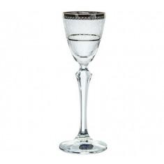 Ποτήρι νερού - Αναψυκτικού Κρυστάλλινο Bohemia 350ml Σετ 6Τμχ Elisabeth Platin