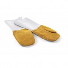 Γάντια Φούρνου Δερμάτινα Σετ 2τμχ. Θερμομονωτικά Hendi