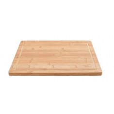 επιφάνεια κοπής cosy & trendy ξύλινη gabon bamboo 34cm