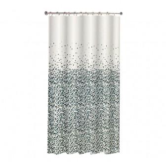 Κουρτίνα Μπάνιου Stripes Υφασμάτινη 180x180cm