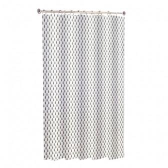 Κουρτίνα Μπάνιου Drops Υφασμάτινη 180x180cm