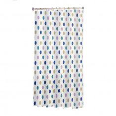 Κουρτίνα Μπάνιου Cubes Υφασμάτινη 180x180cm