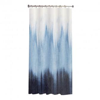 Κουρτίνα Μπάνιου Waves Υφασμάτινη 180x180cm
