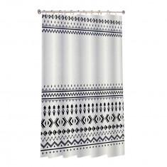 Κουρτίνα Μπάνιου Boho Υφασμάτινη 180x180cm