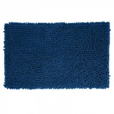 Πατάκι Μπάνιου Chenille Maxi 50x80cm Dark Blue Marva Home