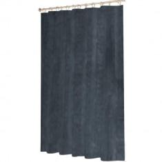 Κουρτίνα Μπάνιου Ανάγλυφη Υφασμάτινη Γκρι 180x180cm