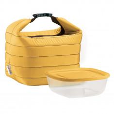Ισοθερμική Τσάντα Guzzini Με Δοχείο Τροφίμων Κίτρινη