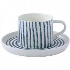 Φλιτζάνι Καφέ Πορσελάνης White Breezel Blue R2S 120ml