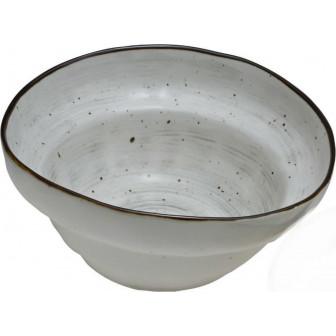 Μπολ Σαλάτας New Bone China Country Grey 20cm