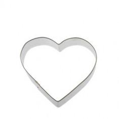 Κουπ-πατ Μεταλλικό Καρδιά 6cm Fisko