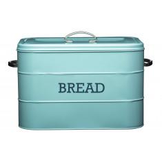ψωμιέρα μεταλλική kitchencraft living nostalgia σιελ