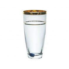 Ποτήρι νερού - Αναψυκτικού Κρυστάλλινο Bohemia 350ml Σετ 6Τμχ Elisabeth Gold