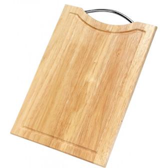 επιφάνεια κοπής ξύλινη ορθογώνια 39cm x 28cm