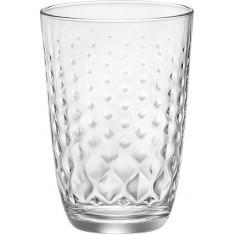 Ποτήρι Νερού - Αναψυκτικού Glit 395ml Σετ 6τμx. Bormioli Rocco