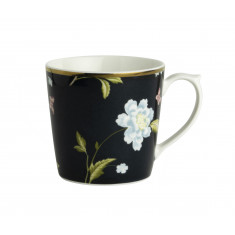 Κούπα Laura Ashley Midnight Uni Fine Bone China 220ml Heritage