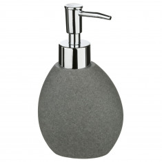 Dispencer Θήκη Για Κρεμοσάπουνο Κεραμικό Stone Grey Mat 5five