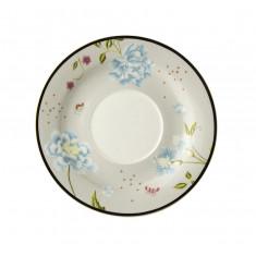 Πιατάκι Για Κούπα Μικρη  Laura Ashley Cobblestone Pinstripe  Fine Bone China Heritage