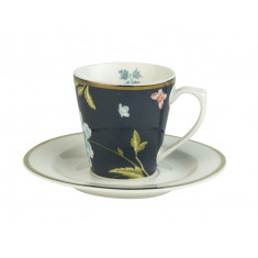 Φλιτζάνι Espresso Laura Ashley Midnight Fine Bone China Heritage