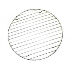 Σχάρα Στρογγυλή Ανοξείδωτη Με Βάσεις 40cm