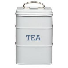 Δοχείο Kitchencraft Μεταλλικό Tea Living Nostalgia Γκρι