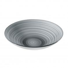 Μπολ Twist Ακρυλικό 37cm Grey Guzzini