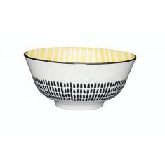 Μπολ Stonware Moroccan Style Yellow 15cm Kitchencraft