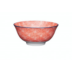 Μπολ Stonware Red Floral 15cm Kitchencraft