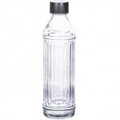 Μπουκάλι Γυάλινο Ριγέ 1lt
