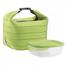 Ισοθερμική Τσάντα Guzzini Με Δοχείο Τροφίμων Πράσινη