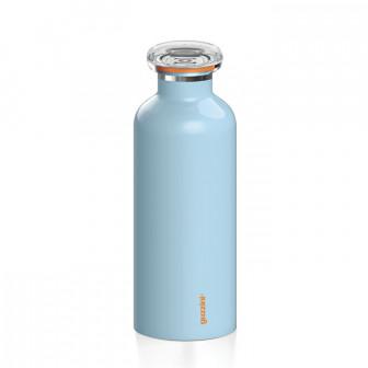 Μπουκάλι Θερμός On the Go Guzzini Light Blue 500ml