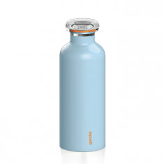 Μπουκάλι Θερμός On the Go Guzzini Light Blue 500ml