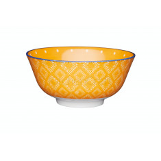 Μπολ Stonware Orange Spotty 15cm Kitchencraft