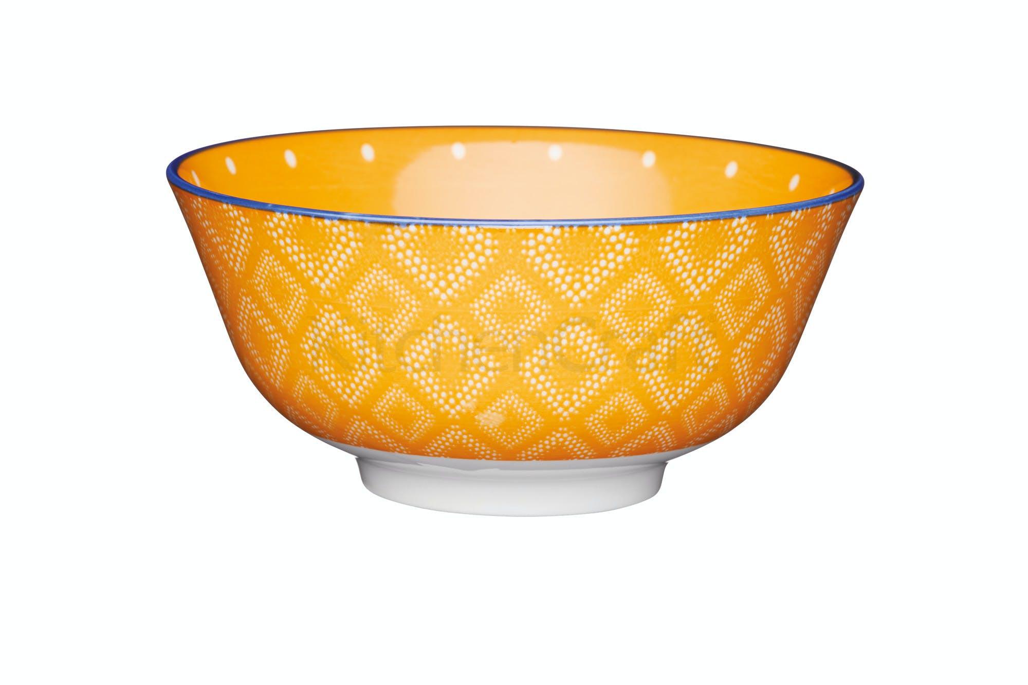 Μπολ Stonware Orange Spotty 15cm Kitchencraft