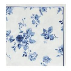 Χαρτοπετσέτες Πολυτελείας Laura Ashley Rose Blueprint 20τμχ.