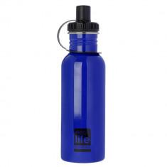 Παγούρι EcoLife Μεταλλικό Ανοξείδωτο Blue 600ml