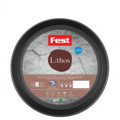 Ταψί Αντικολλητικό Fest Lithos Στρογγυλό 30cm