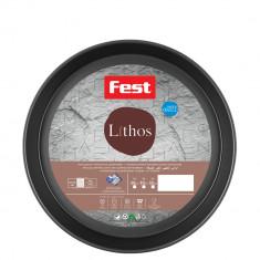 Ταψί Αντικολλητικό Fest Lithos Στρογγυλό 32cm