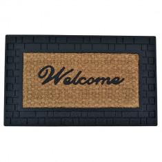 Πατάκι Εισόδου Λάστιχο Welcome 45Χ75