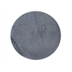Χαλάκι Στρογγυλό Βαμβακερό Grey 60cm
