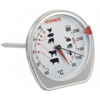 Θερμόμετρο Κρέατος & Φούρνου Inox Leifheit