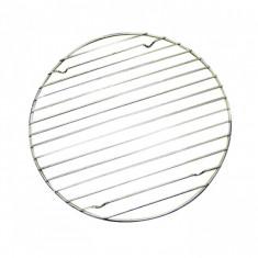 Σχάρα Κρυώματος Στρογγυλή Ανοξείδωτη Με Βάσεις 30cm
