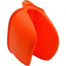 Πιάστρα Σιλικόνης Για τις Κατσαρόλες Πορτοκαλί