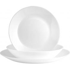 Σερβίτσιο Φαγητού Diwali 18Τμχ. Λευκό Luminarc