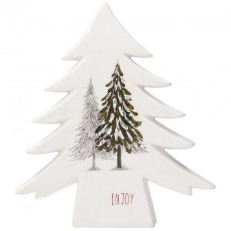Διακοσμητικό Κεραμικό Δέντρο Linea Megeve 25cm Andrea Fondebasso