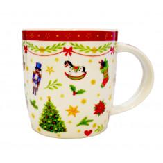 Κούπα Χριστουγεννιάτικη Carousel 350ml