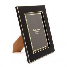 Κορνίζα ξύλινη Μαύρο Χρυσό 10Χ15